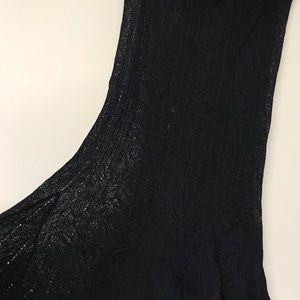 MaxMara black lace skirt. Medium